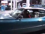Mischa Barton Gets Gas!
