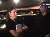 Minka Kelly Visits Matsuhisa For Dinner
