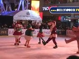 Mickey Mouse And Friends Ice Skate At Nokia