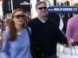 Marcia Cross And Hubby Shopping