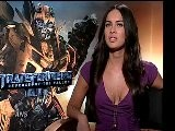 Megan Fox & Shia LaBeouf Talk Transformers DVD Highlights