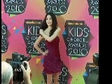 Miranda Cosgrove And Selena Gomez Talk Kids Choice Awards Wins