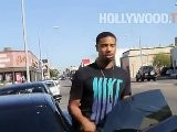 Michael B Jordan Hollywood 030312 YT