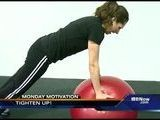 Monday Motivation: Tone Those Abs, Erika Tallan Reports