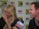 Michael Fassbender And Charlize Theron Talk &#039 Prometheus&#039 At WonderCon 2012