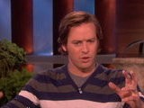 The Ellen Show Armie Hammer On Licking Julia Roberts&#039 Face