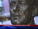 Missing Bronze Bust To Be Returned 3-29-12