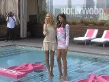 Miranda Kerr And Candice Swanepoel Debut New Swimsuits From Victoria&#039 S Secret