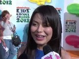 Miranda Cosgrove Interview - 2012 Kids&#039 Choice Awards