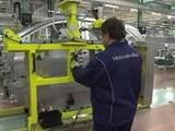 Mercedes-Benz Body Shop At The Kecskemet Plant In Hungary