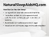 Natural Sleep Aids - The Benefits, Types, And More