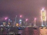 New Year Celebrations In Shanghai And Hong Kong