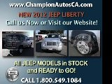 New JEEP LIBERTY Anaheim, Orange County, Norwalk, Downey - 2012 SUV - Call 1.800.549.1084