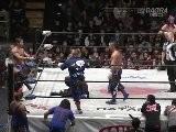Naruki Doi, Noaki Tanizaki & Kzy Vs Kenichiro Arai, Taku Iwasa & K-Ness Dragon Gate