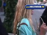Nicollette Sheridan Has Luch At The Ivy