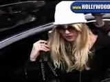 Nicollette Sheridan Leaving The IVY