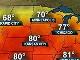 NBC Nightly News With Brian Williams Record Temps In Midwest, East