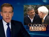 NBC Nightly News With Brian Williams George Clooney Arrested