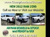 New RAM 2500 Downey, Glendale, Los Angeles, Valencia CA - 2012 Truck - 1.800.549.1084