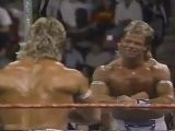 Narcissist Lex Luger In Action + Mr. Perfect Promo