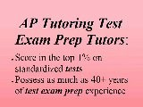 Oakland AP Exam Test Prep Tutor