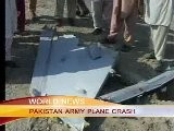 PAKISTAN ARMY PLANE CRASH