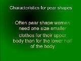 Pear Shaped Bodies: Do I Have One?