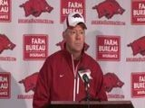 Petrino Gives Christmas Break Instruction
