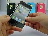 Panda IPhone 4S Aluminium Metal Back Cover Case Silver