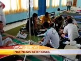 INDONESIA SHIP SINKS