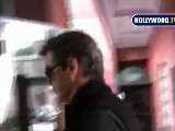 Pierce Brosnan Walks Down Bedford