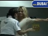 Pamela Anderson Leaves For Abu Dhabi