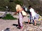 Pamela Anderson @Malibu Beach