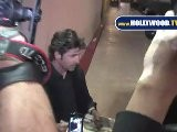 Patrick Dempsey Thrills Female Autograph Seekers At Jimmy Kimmel