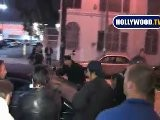 Paparazzi Gets Stuck In Ashley Greene&#039 S Car In Hollywood