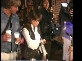 PAULA ABDUL WRAPS ARMS AROUND FANS AND GRAMMY STYLE BAGS