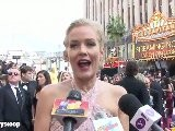 Penelope Ann Miller Talks The Artist At The 2012 Oscars