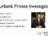 Private Investigator Burbank California