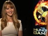 PopSugarTV Jennifer Lawrence On Hunger Games Pressure