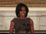 First Lady Michelle Obama And Dr. Jill Biden Speak On Military Spouse Employment