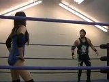 Rain Vs Joey-- Mixed Professional Wrestling Match FULL MATCH