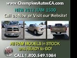RAM 1500 VS FORD F-150 Buena Park, Anaheim, Cerritos - 2012 NEW - Call 1.800.549.1084