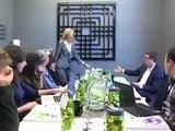 Round Table With Arianna Huffington