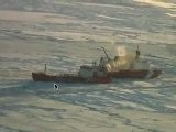 Raw Video: USCG Icebreaker Aids Russian Tanker