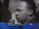Observing Martin Luther King Jr. Day
