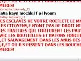 Respecter Mes Soeurs,bande Des Esclavagistes Haineux Marocains,et Roitlete