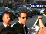 Ryan Reynolds Signs Autographs At Premiere Of Wolverine