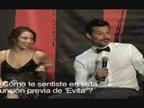 Ricky Martin Conferencia Evita