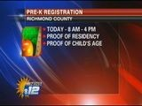 Richmond County Pre-K Registration