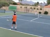Rafael Nadal Imitated By Jared, Age 6